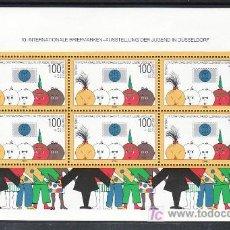 Sellos: ALEMANIA FEDERAL HB 20 SIN CHARNELA, INFANCIA, EXPOSICION FILATELICA INTERNACIONAL DE LA JUVENTUD, . Lote 10800182