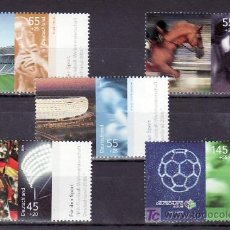 Sellos: ALEMANIA FEDERAL 2342/6 SIN CHARNELA, DEPORTE, FUTBOL, FIFA, CABALLO, . Lote 10800184