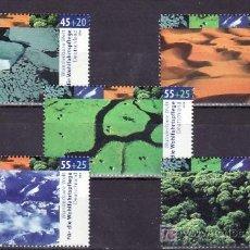 Sellos: ALEMANIA FEDERAL 2249/53 SIN CHARNELA, NATURALEZA, ZONAS CLIMATICAS, . Lote 10800186