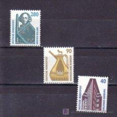 Sellos: ALEMANIA FEDERAL 1211/3 SIN CHARNELA, ARTE, . Lote 11288248