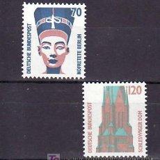 Sellos: ALEMANIA FEDERAL 1206/7 SIN CHARNELA, ARTE, . Lote 11288253