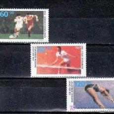 Sellos: ALEMANIA FEDERAL 1185/7 SIN CHARNELA, DEPORTE, JUEGOS OLIMPICOS, FUTBOL, TENIS, NATACION, . Lote 11288311