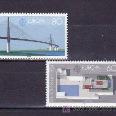 Sellos: ALEMANIA FEDERAL 1153/4 SIN CHARNELA, TEMA EUROPA 1987, ARQUITECTURA MODERNA, . Lote 11288673