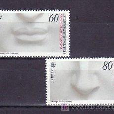 Sellos: ALEMANIA FEDERAL 1110/1 SIN CHARNELA, TEMA EUROPA 1986, PROTECCION DE LA NATURALEZA Y MEDIO AMBIENTE. Lote 11288832