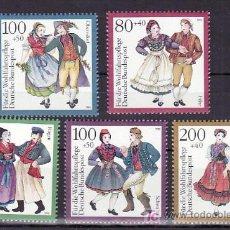 Sellos: ALEMANIA FEDERAL 1528/32 SIN CHARNELA, TRAJES REGIONALES, . Lote 11311938