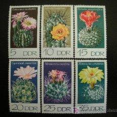 Sellos: ALEMANIA ORIENTAL DDR 1974 IVERT 1602/7 *** FLORA - CACTUS DE LA RDA. Lote 13990752