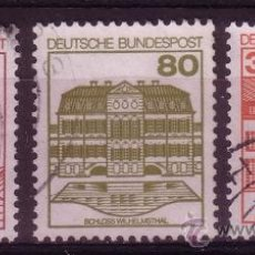 Sellos: ALEMANIA 969/71 - AÑO 1982 - CASTILLOS. Lote 15150245