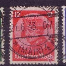 Sellos: ALEMANIA IMPERIO 467/69 - AÑO 1933 - FEDERICO EL GRANDE. Lote 15183146
