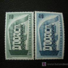 Sellos: ALEMANIA FEDERAL 1956 YVERT 117/18 *** EUROPA. Lote 20433738