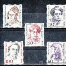 Sellos: ALEMANIA-BERLIN 785/9 SIN CHARNELA, HISTORIA DE LA MUJER ALEMANA, . Lote 20082732