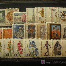 Sellos: BERLIN 1981 IVERT 598/619 *** AÑO COMPLETO. Lote 19304898