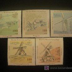 Sellos: ALEMANIA FEDERAL 1997 IVERT 1780/4 *** PRO OBRAS BENEFICENCIA - MOLINOS. Lote 19963077