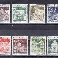 Sellos: ALEMANIA-FEDERAL 391/7A SIN CHARNELA, EDIFICIOS HISTORICOS, . Lote 19964666