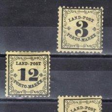 Sellos: ALEMANIA-ANTIGUOS-ESTADOS-BADEN TASA 1/3 SIN GOMA. Lote 21557532