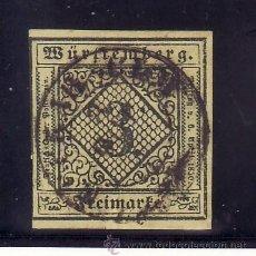 Sellos: ALEMANIA-ANTIGUOS-ESTADOS-WURTEMBERG 2 USADA,. Lote 179116721