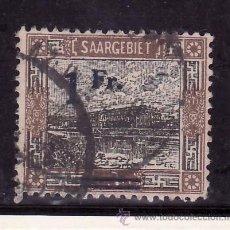Sellos: ALEMANIA-SARRE 79 USADA, SOBRECARGADO, . Lote 21553224