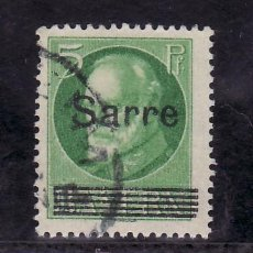 Sellos: ALEMANIA-SARRE 18 USADA, SOBRECARGADO . Lote 21553399