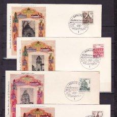 Sellos: ALEMANIA-BERLIN 219/25, 224A PRIMER DIA BERLIN 12/1, EDIFICIOS HISTORICOS, . Lote 22670890
