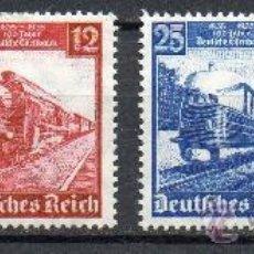 Sellos: ALEMANIA III REICH AÑO 1935 YV 539/42* CENTº DE LOS FERROCARRILES ALEMANES - TRANSPORTES. Lote 26951146