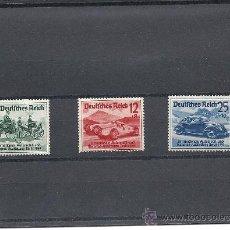 Sellos: ALEMANIA 1939 CARRERAS NÜRBURGRING YVERT Nº 627/29*.TEMATICA AUTOMOBILES.. Lote 25840278