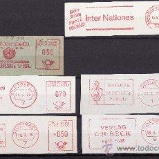 Sellos: FRAGMENTOS FRANQUEO MECANICO ALEMANIA 1970 TEMATICA LIBROS Y EDITORIALES. Lote 27476161