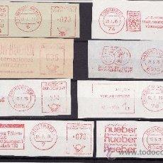 Sellos: FRAGMENTOS FRANQUEO MECANICO ALEMANIA 1970 TEMATICA LIBROS Y EDITORIALES. Lote 27476184