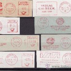 Sellos: FRAGMENTOS FRANQUEO MECANICO ALEMANIA 1970 TEMATICA LIBROS Y EDITORIALES. Lote 27476221