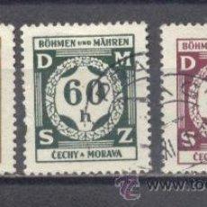 Sellos: ALEMANIA,OCUPACIÓN DE CHEQUIA BOHEMIA MORAVIA. 1933-45. III REICH. 2ª GUERRA MUNDIAL.. Lote 28081518