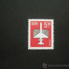 Sellos: ALEMANIA ORIENTAL DDR 1985 AEREO IVERT 14 *** SERIE BÁSICA - AVION. Lote 30409713