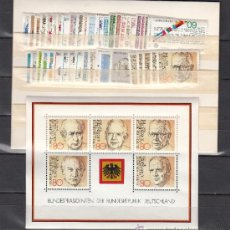 Sellos: ALEMANIA FEDERAL 950/93, HB17 SIN CHARNELA, AÑO 1982 VALOR CAT 106.70 € +. Lote 32726094