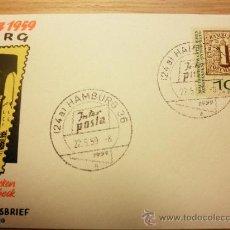 Sellos: ERSTTAGSBRIEF - FDC - BUND - ETB - INTERPOSTA HAMBURG 1959 - NR. 310. Lote 33208778