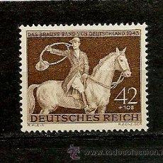 Sellos: ALEMANIA IMPERIO 1943 RUBAN BRUN YVERT Nº 775*,CINTA PARDA. FIJASELLOS . Lote 143745926