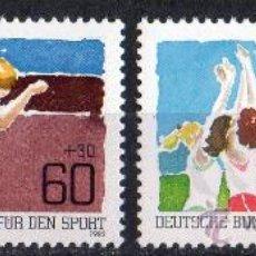 Sellos: ALEMANIA BERLÍN AÑO 1982 YV 625/26*** PRO DEPORTES - ATLETISMO - VOLEIBOL. Lote 34995115