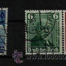Sellos: 1936 SERIES COMPLETAS LUFTHANSA DAIMLER BENZ MI 603-605 TERCER . Lote 36759436