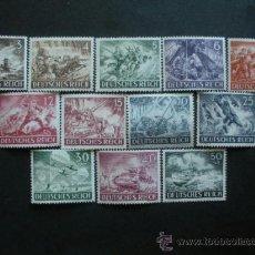 Sellos: ALEMANIA III REICH 1943 IVERT 748/59 *** DÍA DE LOS HERORES (I) . Lote 38026190