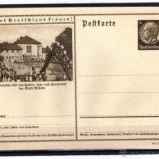 Sellos: ENTERO POSTAL ALEMANIA NAZI DEUTSCHES III REICH, CONOCER ALEMANIA.. Lote 44027571