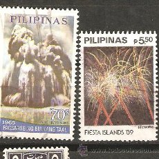 Sellos: LOTE F-SELLOS PILIPINAS ALTO VALOR. Lote 45056925