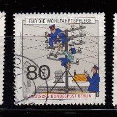 Sellos: ALEMANIA BERLÍN. 1990. CORREOS Y TELECOMUNICACIONES. MICHEL 876/8. Lote 46025263