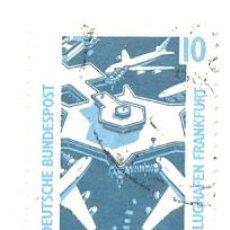 Sellos: 2-ALEF1179. SELLO USADO ALEMANIA FEDERAL. YVERT Nº 1179. AEROPUERTO DE FRANKFURT. Lote 46553185
