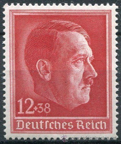 DEUTSCHES REICH 1938 - MI.NR. 664 HITLER (Sellos - Extranjero - Europa - Alemania)