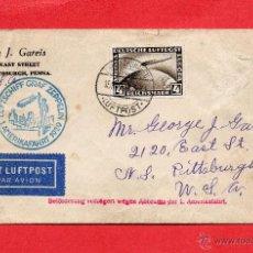 Sellos: GRAF ZEPPELIN=PRECIOSO SOBRE CON SELLOS DE ALEMANIA=MAGNIFICO FRANQUEO. Lote 47407963