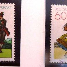 Sellos: SELLOS ALEMANIA FEDERAL 1981. NUEVOS.. Lote 48002240