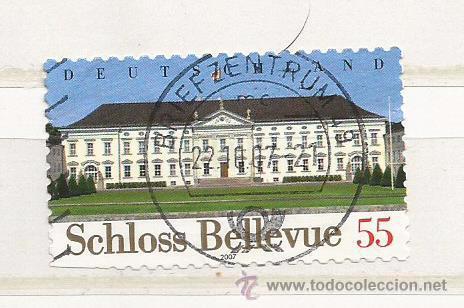 ALEMANIA 2007. CASTILLO DE BELLEVUE (TIPO ADHESIVO) (Sellos - Extranjero - Europa - Alemania)