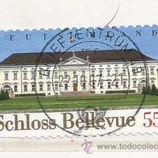 Selos: ALEMANIA 2007. CASTILLO DE BELLEVUE (TIPO ADHESIVO). Lote 260787870