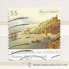 Selos: ALEMANIA 2006.VALLE DEL RIN (PATRIMONIO MUNDIAL DE 2002) (TIPO ADHESIVO). Lote 260790270
