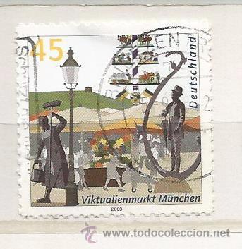 ALEMANIA 2004. VIKTUALIENMARKT, MUNICH (TIPO ADHESIVO) (Sellos - Extranjero - Europa - Alemania)