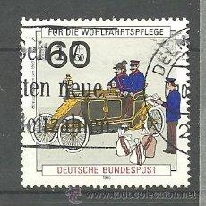 Sellos: MICHEL 1474 ALEMANIA 1990 (35 X 35). Lote 169739000