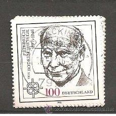Sellos: MICHEL 1835 ALEMANIA 1996 (35 X 35). Lote 169739046