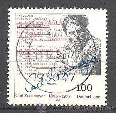 Sellos: MICHEL 1893 ALEMANIA 1996 (35 X 35). Lote 169739201