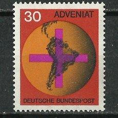 Sellos: ALEMANIA FEDERAL - 1967 - SCOTT 977** MNH. Lote 262076710